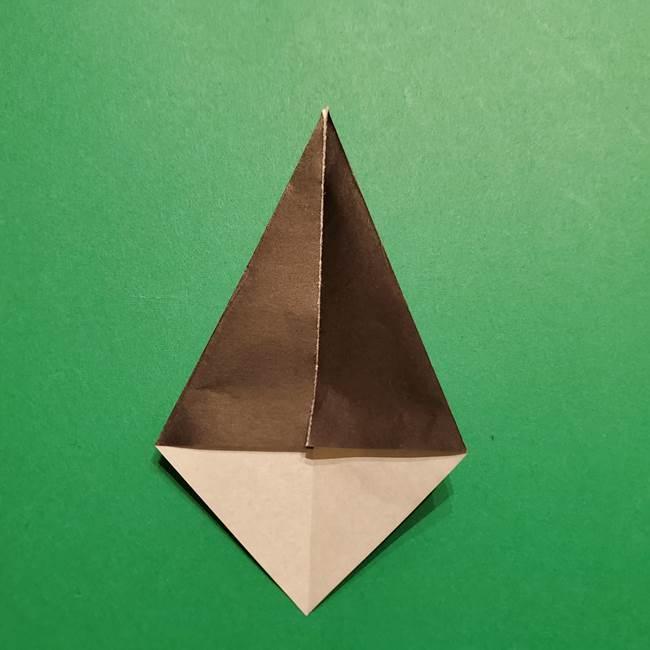 きめつのやいば よりいちの折り紙の折り方・作り方4着物(4)