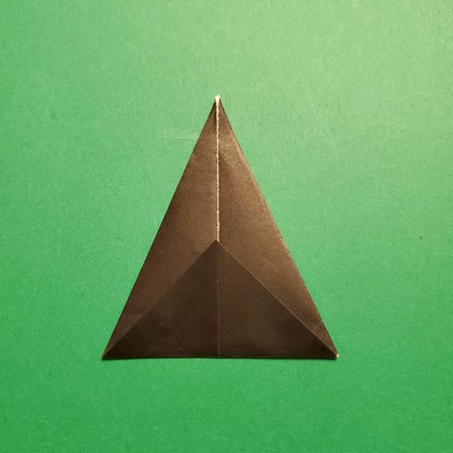 きめつのやいば よりいちの折り紙の折り方・作り方4着物(5)