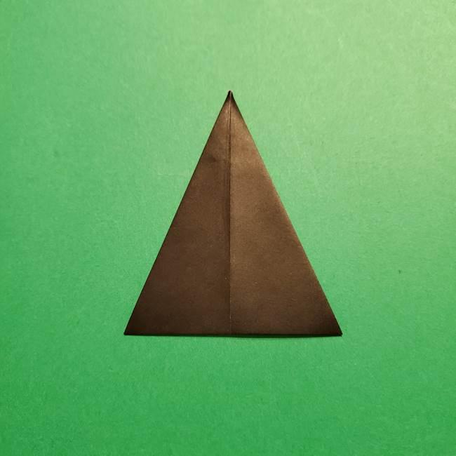 きめつのやいば よりいちの折り紙の折り方・作り方4着物(6)