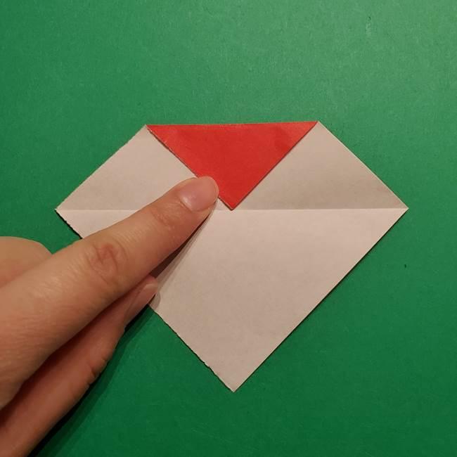 きめつのやいば よりいちの折り紙の折り方・作り方5羽織(4)
