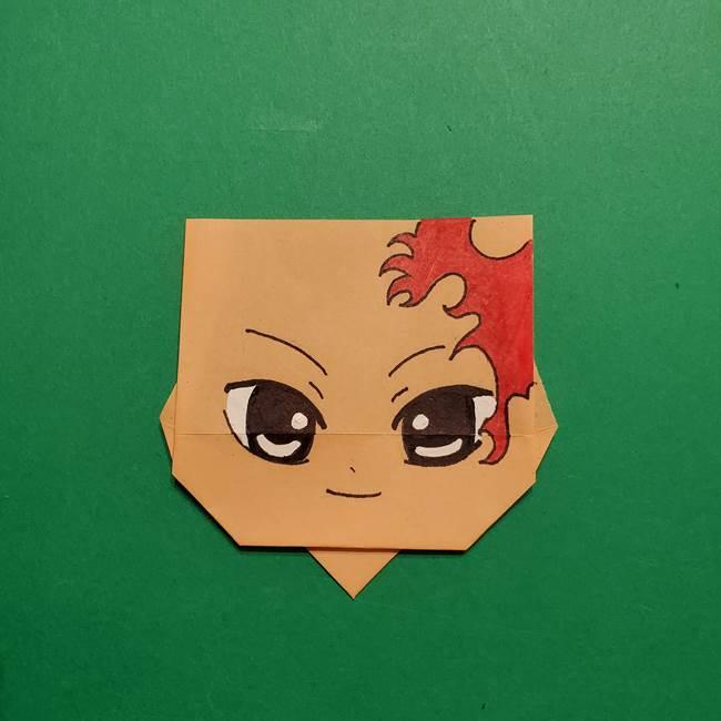きめつのやいば よりいちの折り紙の折り方・作り方6調整(1)