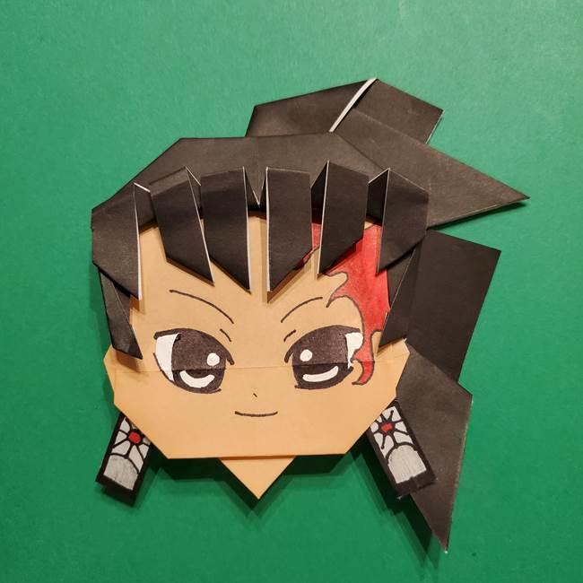 きめつのやいば よりいちの折り紙の折り方・作り方6調整(11)
