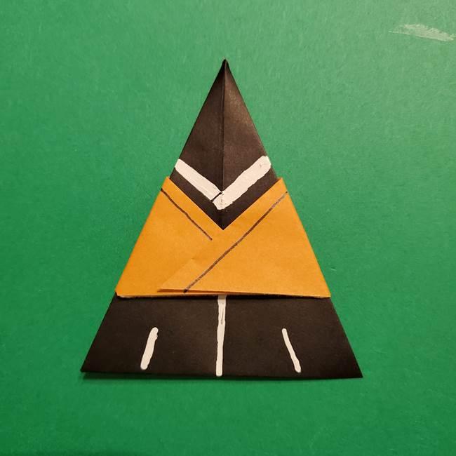 きめつのやいば よりいちの折り紙の折り方・作り方6調整(15)