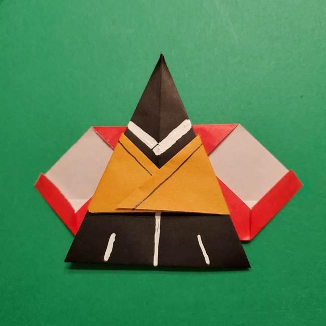 きめつのやいば よりいちの折り紙の折り方・作り方6調整(16)