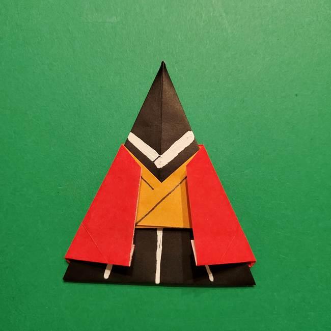 きめつのやいば よりいちの折り紙の折り方・作り方6調整(17)