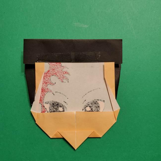 きめつのやいば よりいちの折り紙の折り方・作り方6調整(2)