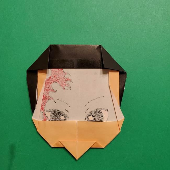 きめつのやいば よりいちの折り紙の折り方・作り方6調整(3)
