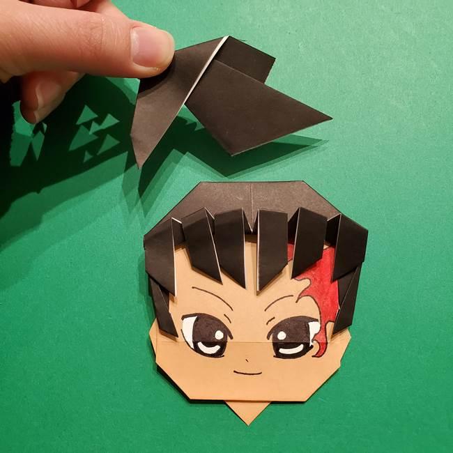 きめつのやいば よりいちの折り紙の折り方・作り方6調整(5)