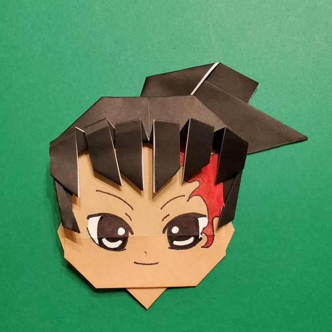 きめつのやいば よりいちの折り紙の折り方・作り方6調整(6)