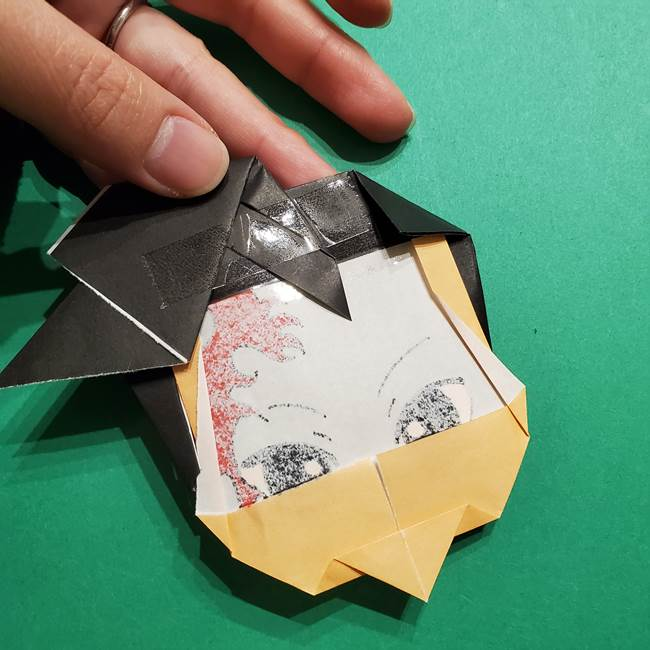 きめつのやいば よりいちの折り紙の折り方・作り方6調整(7)