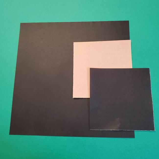 きめつのやいば 折り紙の無惨*必要なもの(1)