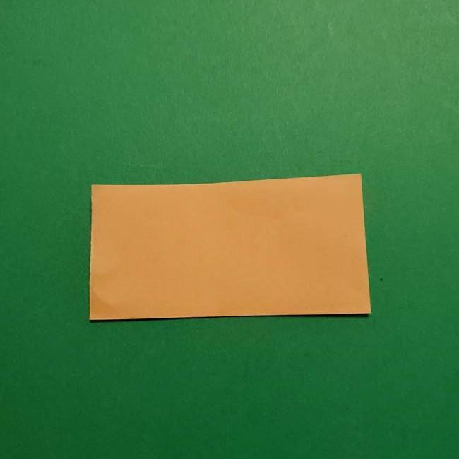 はがねづかの折り紙の折り方・作り方1顔(2)
