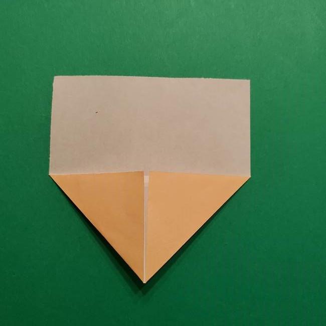 はがねづかの折り紙の折り方・作り方1顔(3)
