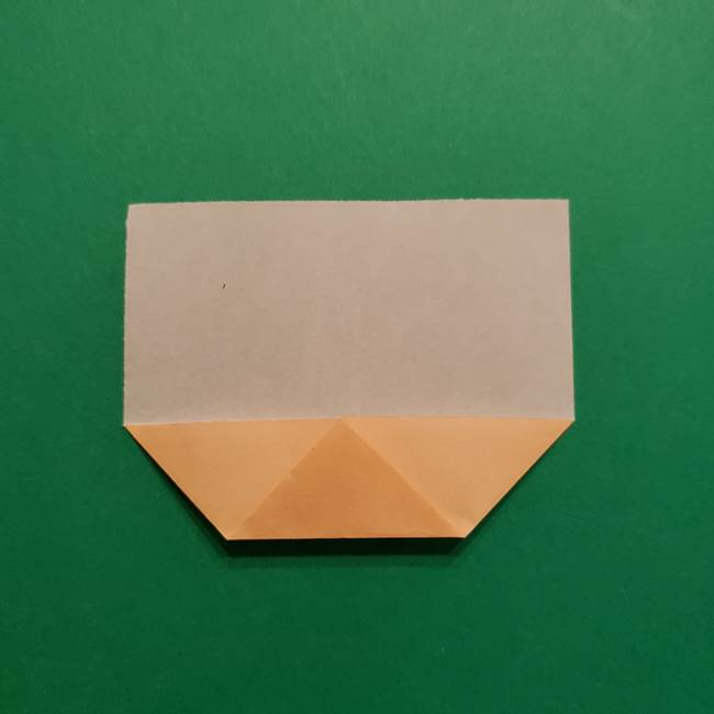 はがねづかの折り紙の折り方・作り方1顔(4)