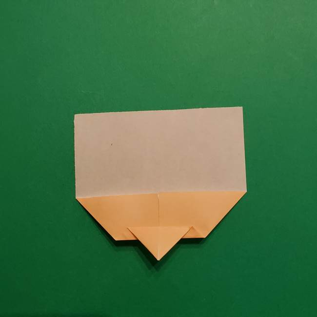 はがねづかの折り紙の折り方・作り方1顔(5)