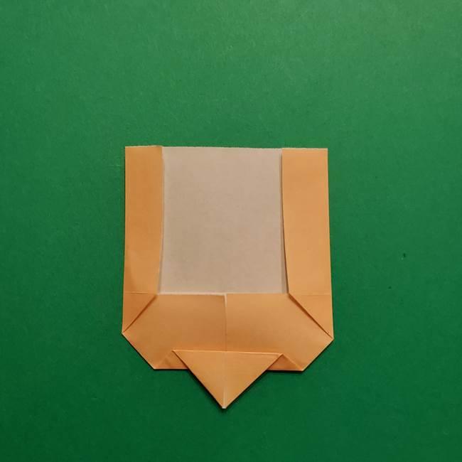 はがねづかの折り紙の折り方・作り方1顔(6)