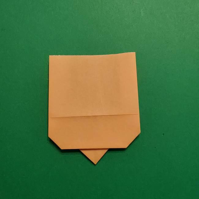 はがねづかの折り紙の折り方・作り方1顔(7)
