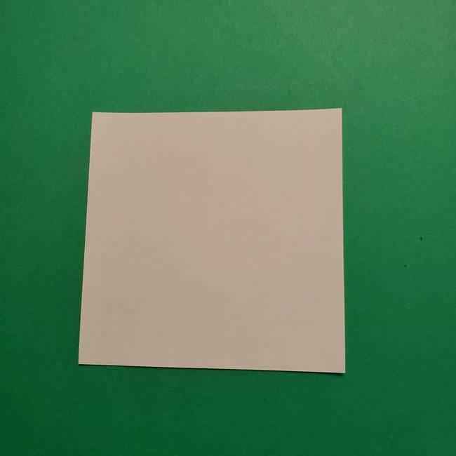 はがねづかの折り紙の折り方・作り方2手拭い(1)