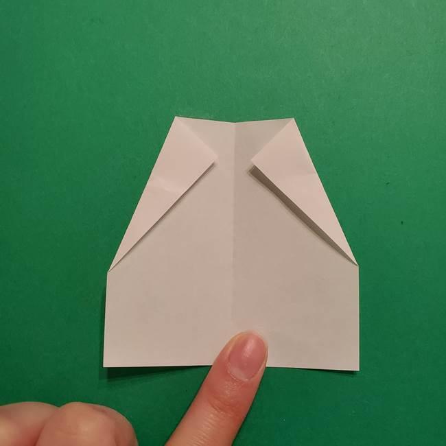はがねづかの折り紙の折り方・作り方2手拭い(4)