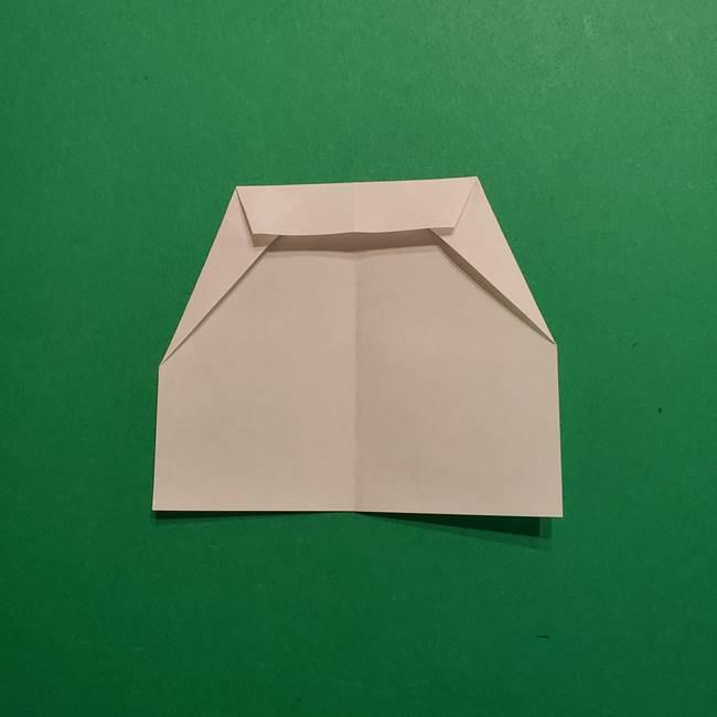 はがねづかの折り紙の折り方・作り方2手拭い(5)