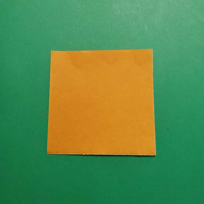 はがねづかの折り紙の折り方・作り方3着物(1)