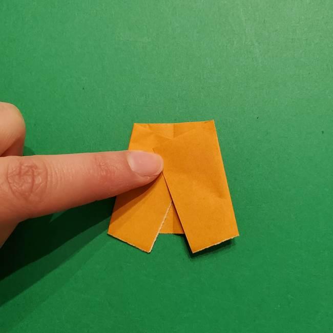 はがねづかの折り紙の折り方・作り方3着物(6)