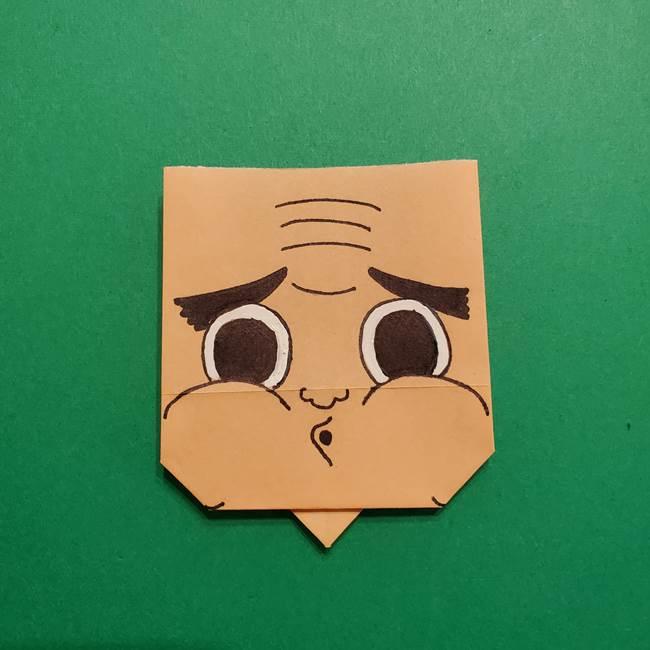 はがねづかの折り紙の折り方・作り方4調整(1)