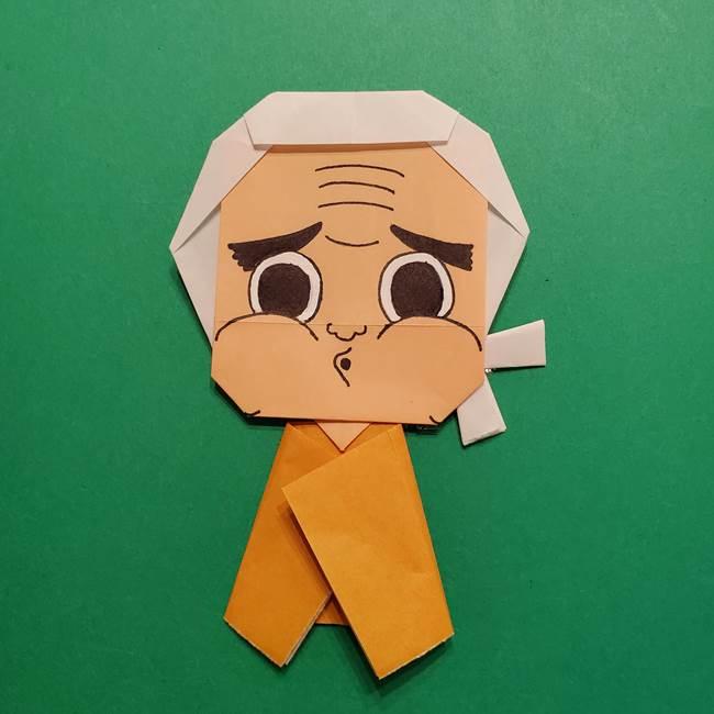 はがねづかの折り紙の折り方・作り方4調整(10)