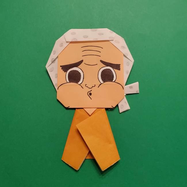 はがねづかの折り紙の折り方・作り方4調整(11)