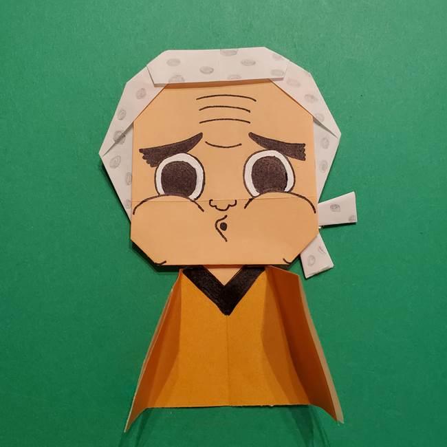 はがねづかの折り紙の折り方・作り方4調整(12)