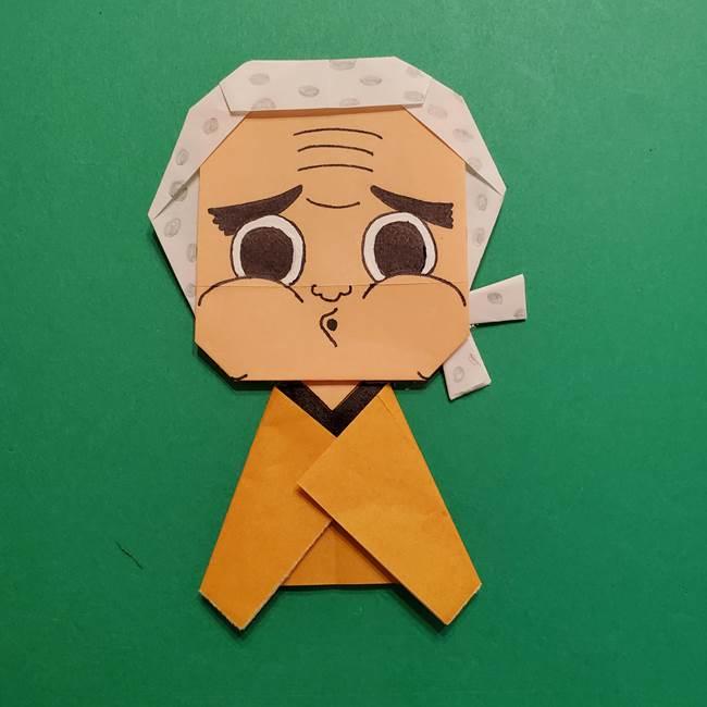 はがねづかの折り紙の折り方・作り方4調整(13)