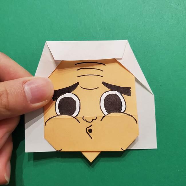 はがねづかの折り紙の折り方・作り方4調整(2)