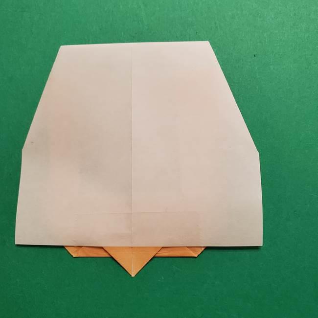 はがねづかの折り紙の折り方・作り方4調整(4)
