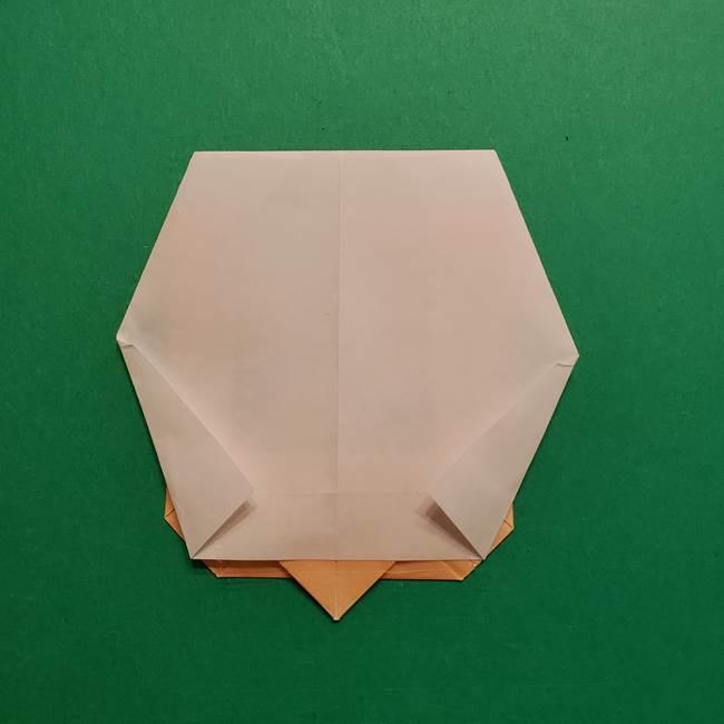 はがねづかの折り紙の折り方・作り方4調整(5)