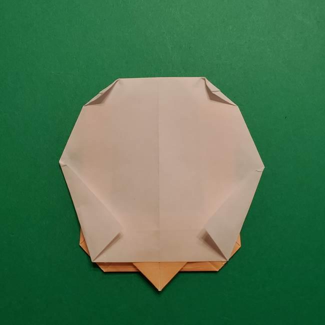 はがねづかの折り紙の折り方・作り方4調整(6)
