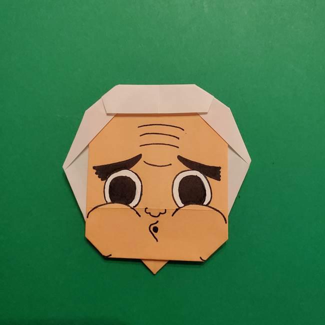はがねづかの折り紙の折り方・作り方4調整(7)
