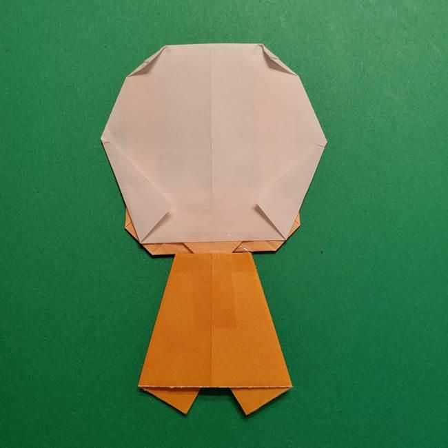はがねづかの折り紙の折り方・作り方4調整(8)