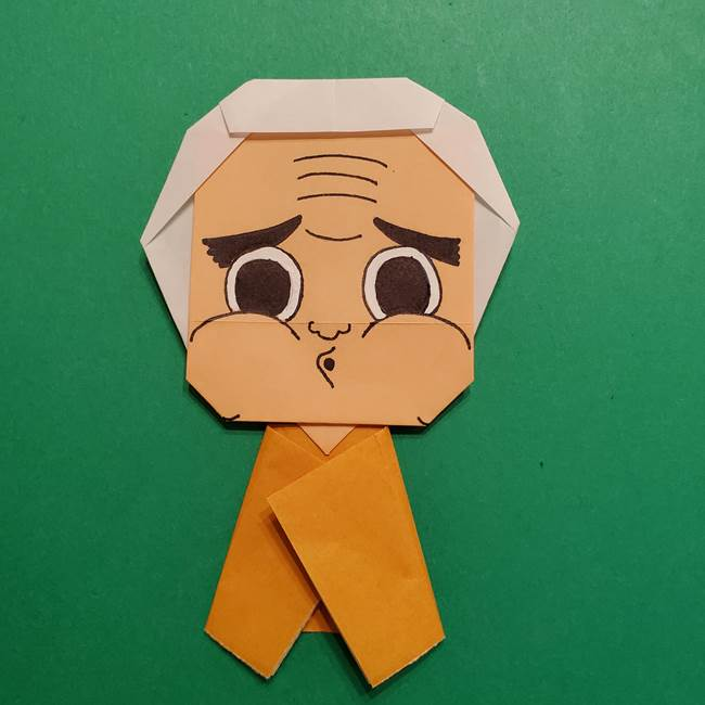 はがねづかの折り紙の折り方・作り方4調整(9)