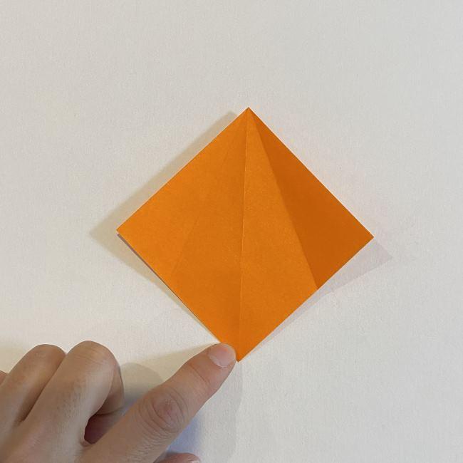 カタツムリの折り紙 リアルで立体的な折り方作り方 (10)