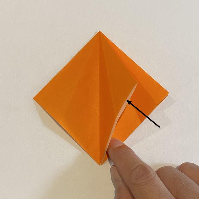 カタツムリの折り紙 リアルで立体的な折り方作り方 (11)