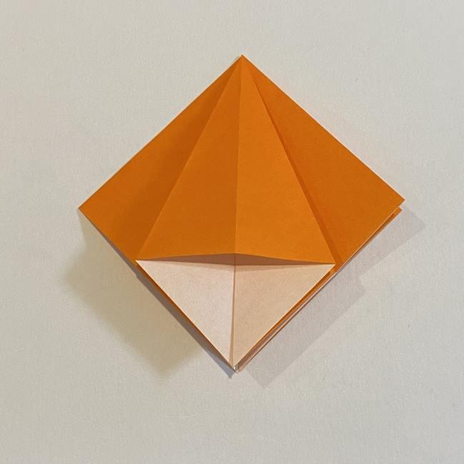 カタツムリの折り紙 リアルで立体的な折り方作り方 (14)