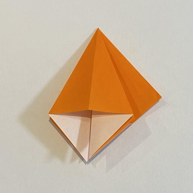 カタツムリの折り紙 リアルで立体的な折り方作り方 (16)