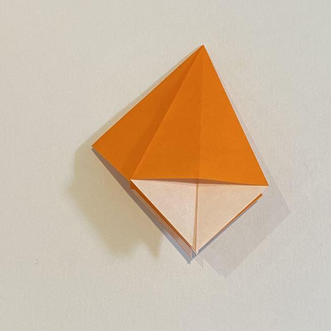 カタツムリの折り紙 リアルで立体的な折り方作り方 (17)