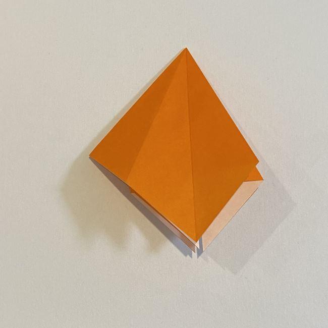カタツムリの折り紙 リアルで立体的な折り方作り方 (18)