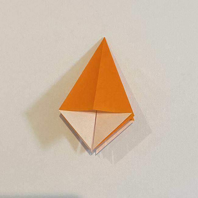 カタツムリの折り紙 リアルで立体的な折り方作り方 (19)