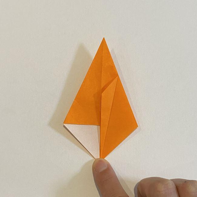 カタツムリの折り紙 リアルで立体的な折り方作り方 (21)