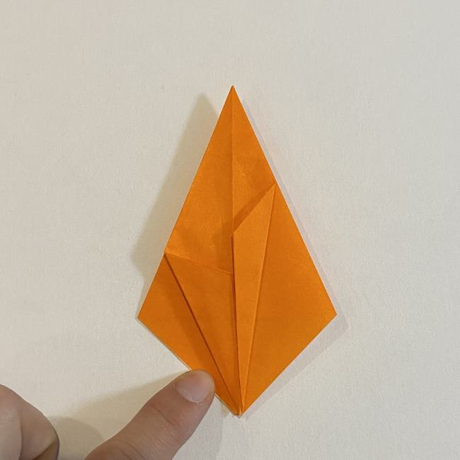 カタツムリの折り紙 リアルで立体的な折り方作り方 (22)