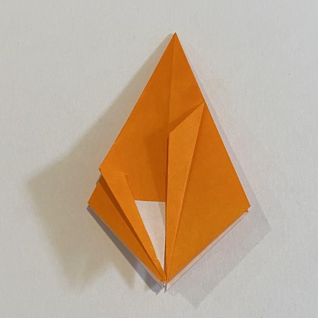 カタツムリの折り紙 リアルで立体的な折り方作り方 (23)