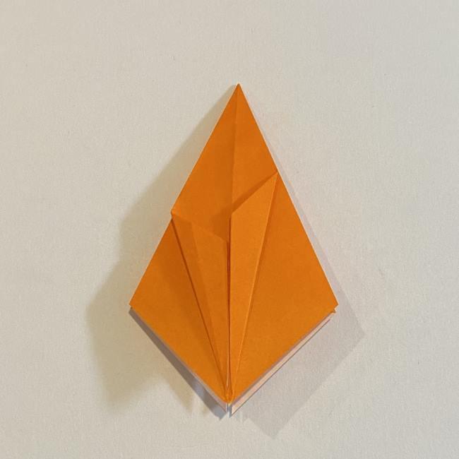 カタツムリの折り紙 リアルで立体的な折り方作り方 (24)