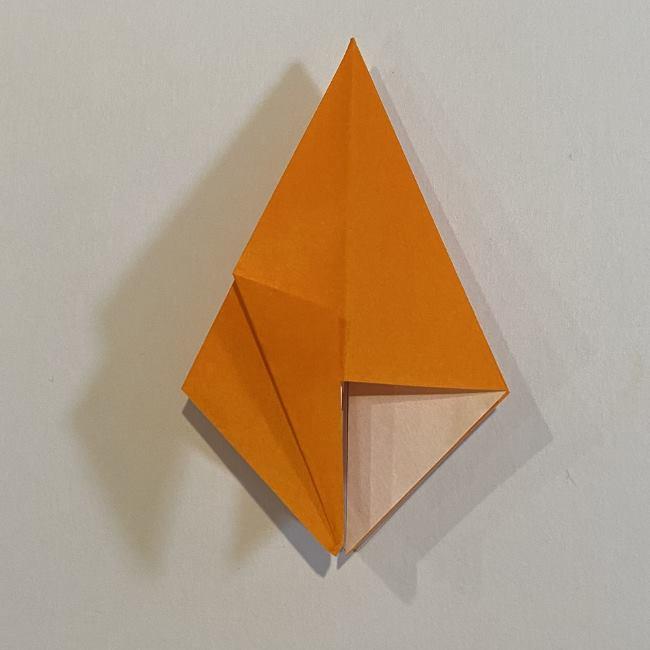 カタツムリの折り紙 リアルで立体的な折り方作り方 (26)